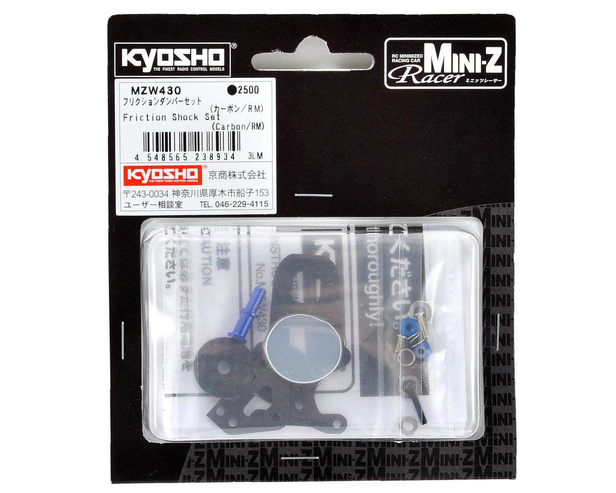 Kyosho MR-03 Carbon Fiber Friction Shock Set