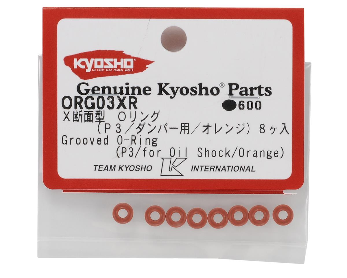 Kyosho P3 Grooved Low Friction Shock O-Ring (8)
