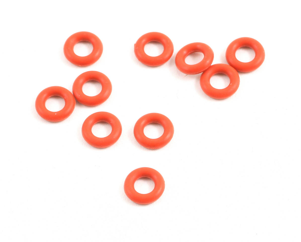 Kyosho P4 Silicone O-ring (Orange) (10)