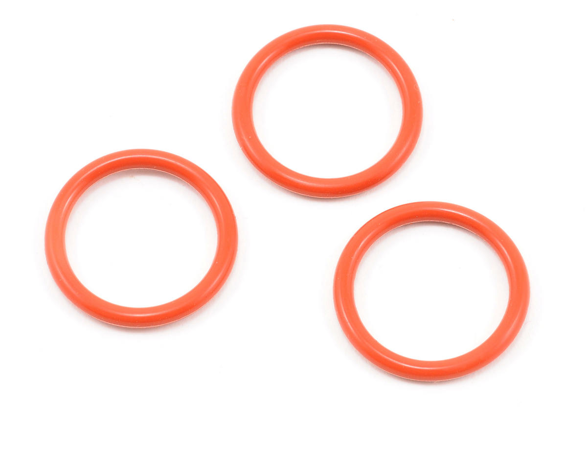 Kyosho P18 Silicone O-Ring (Orange) (3)