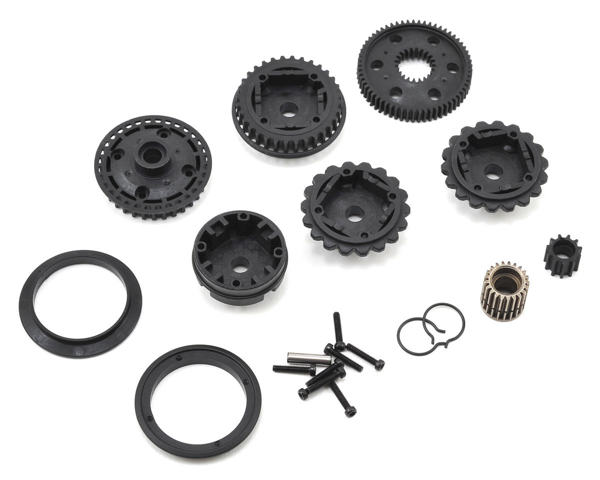 Kyosho Optima Differential Gear Case & Pulley