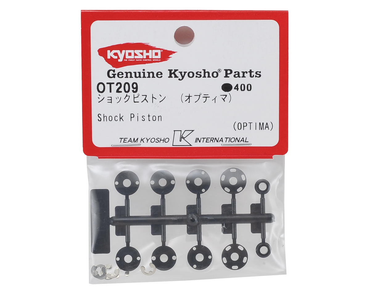 Optima Shock Piston by Kyosho