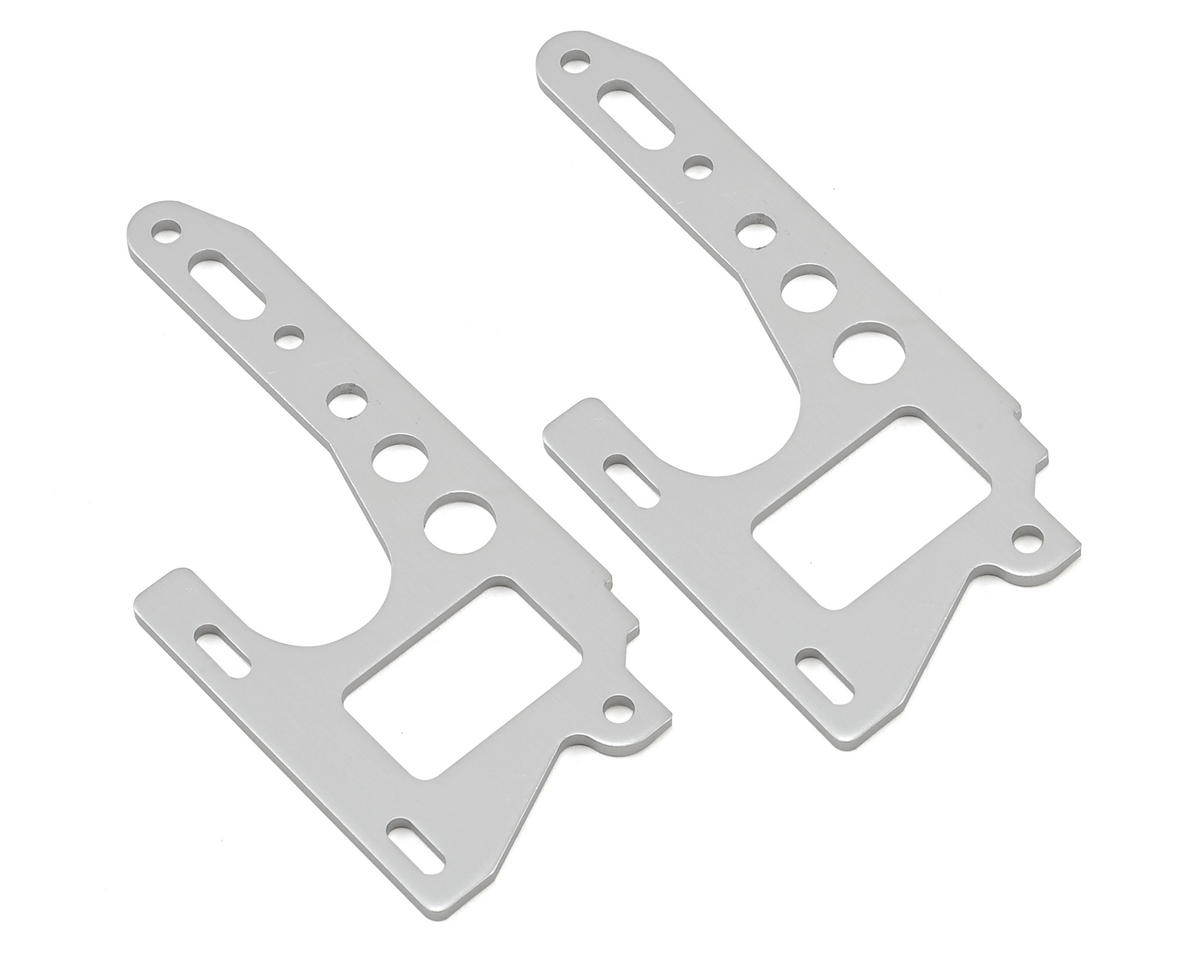 Kyosho Optima Front Side Plate (Silver) (2)