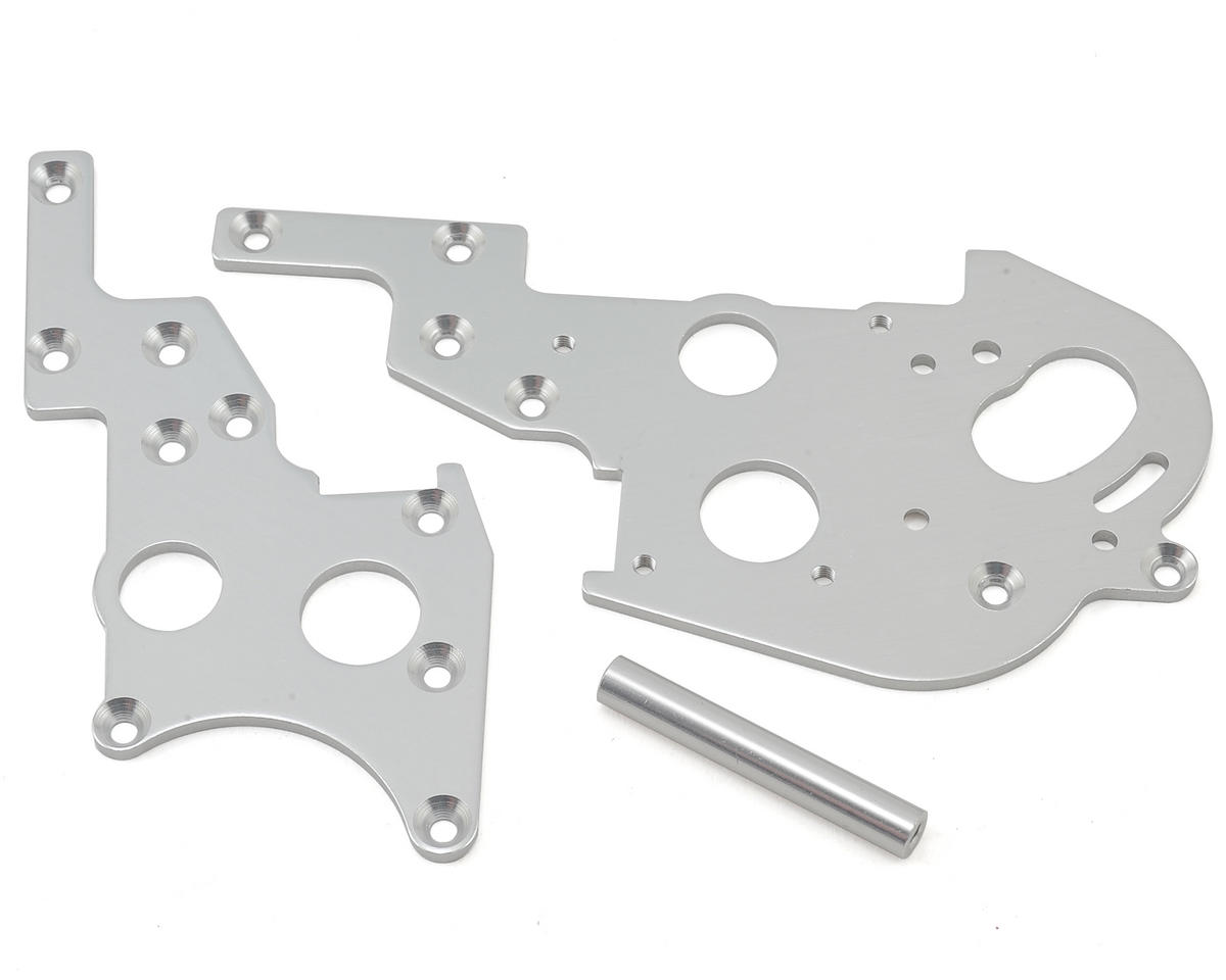 Kyosho Optima Rear Plate (Silver)