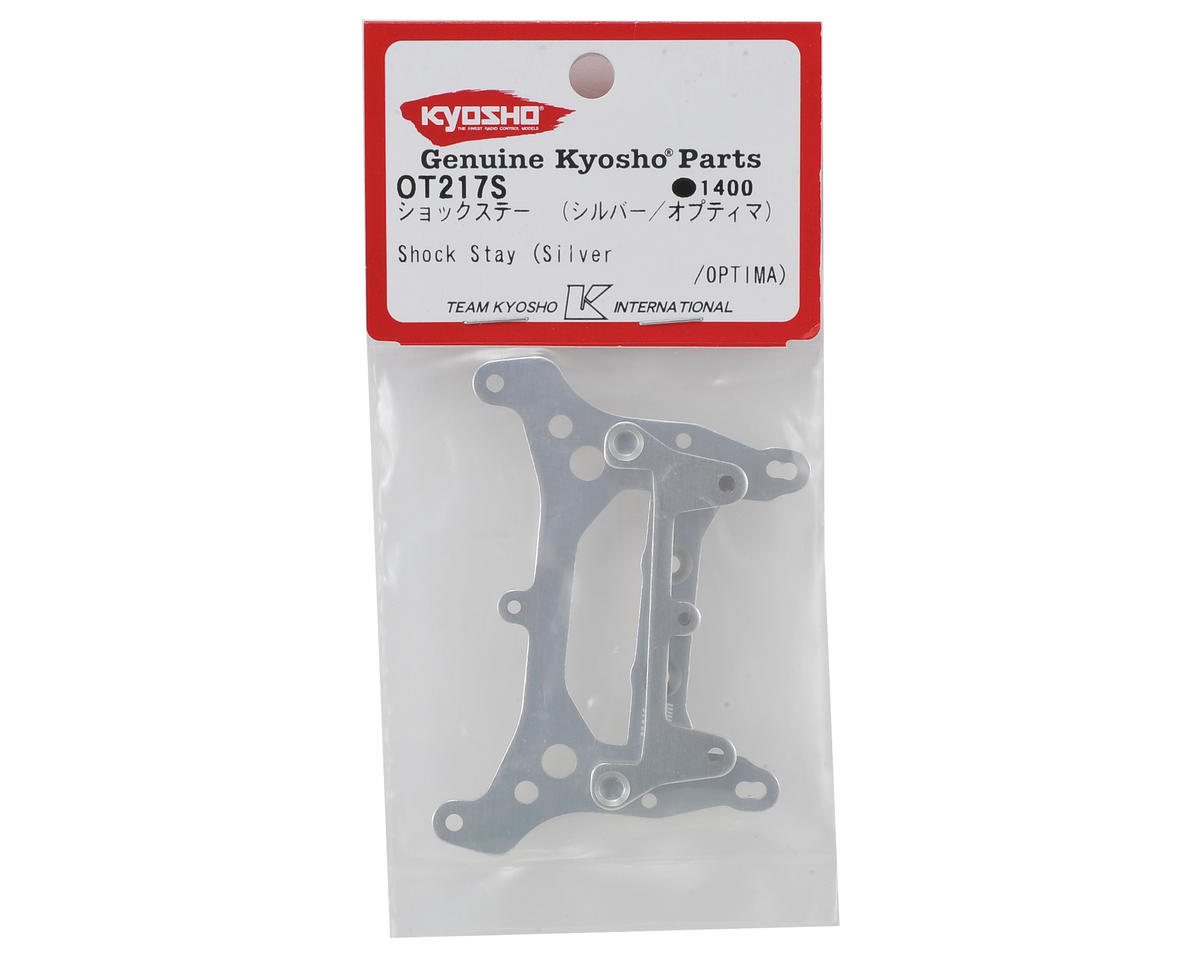 Kyosho Optima Shock Stays (Silver)