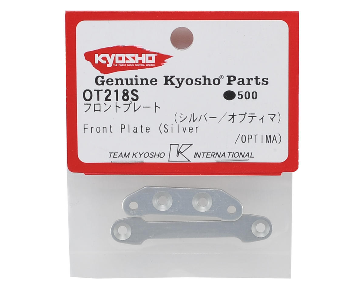 Kyosho Optima Front Plate (Silver)