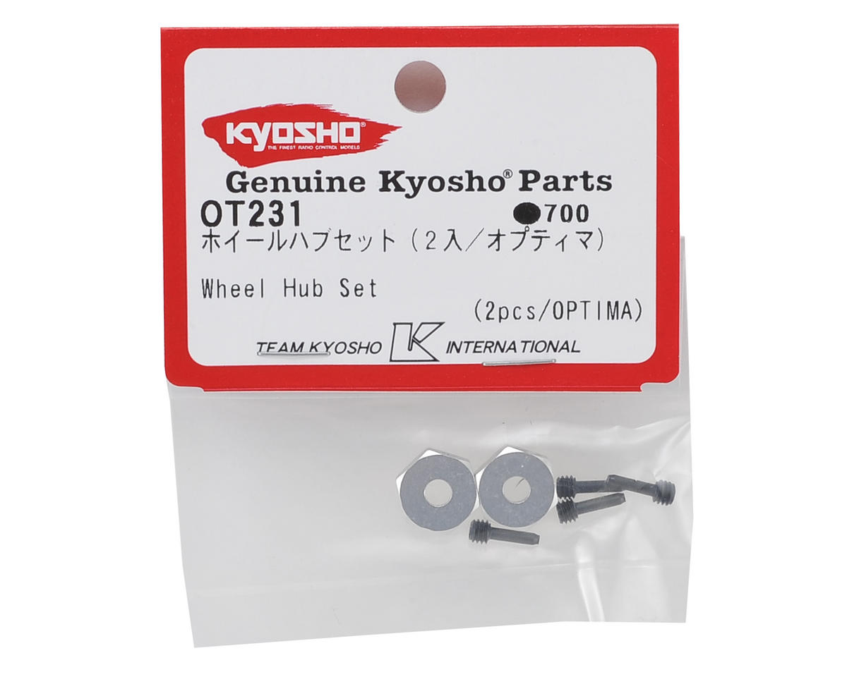 Kyosho Optima Wheel Hub Set (2)