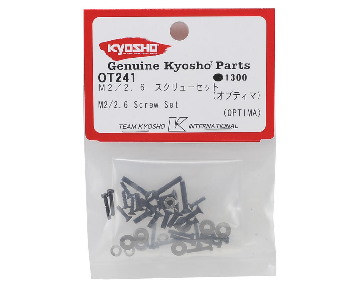 Kyosho M2/2.6 Screw Set