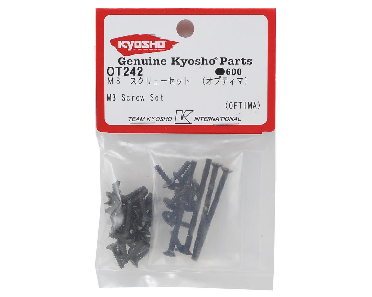Kyosho M3 Screw Set (3mm)