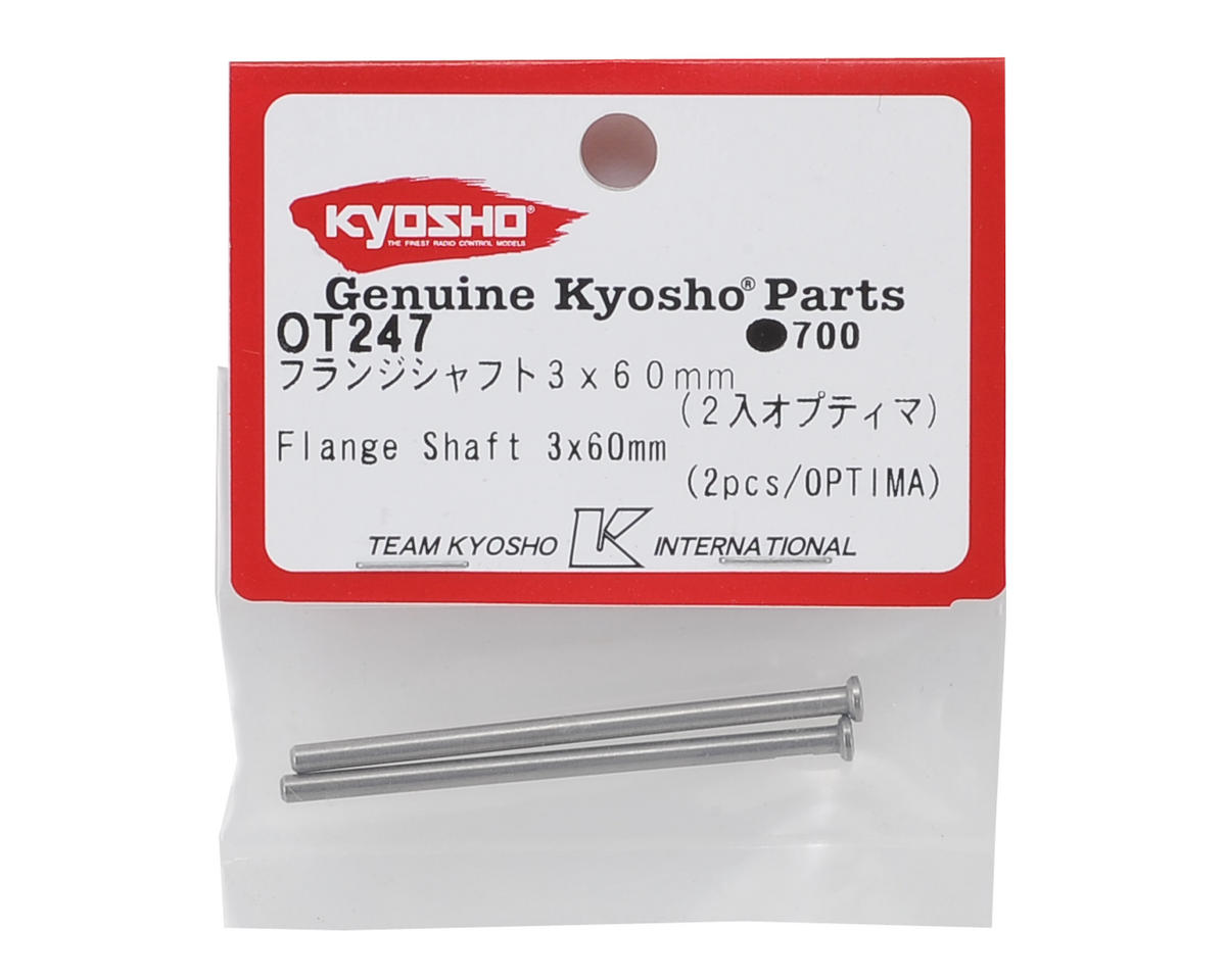Kyosho Flange Shaft 3x60mm 2 Kyoot247 Cars
