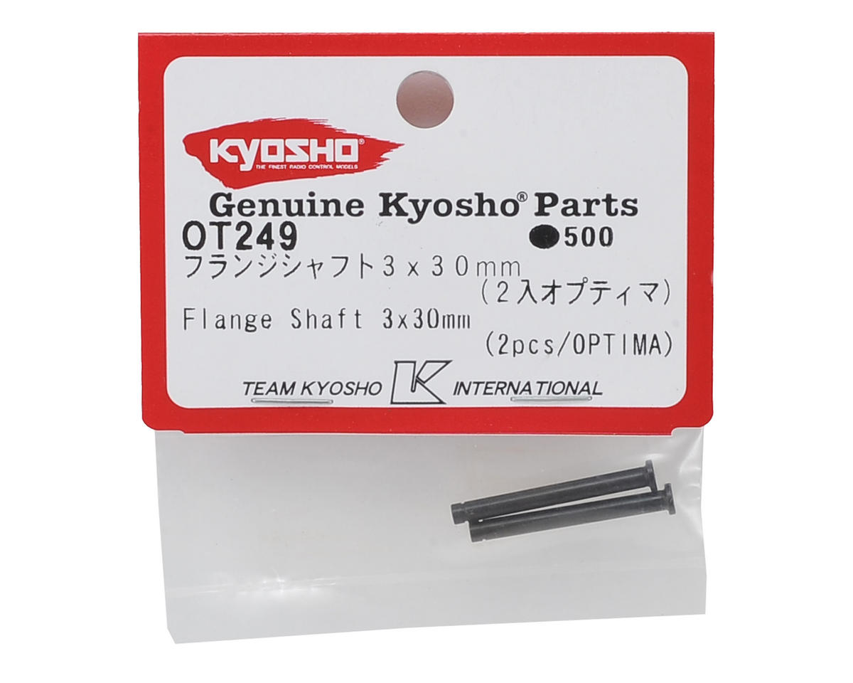 Kyosho 3x30mm Flange Shaft (2)