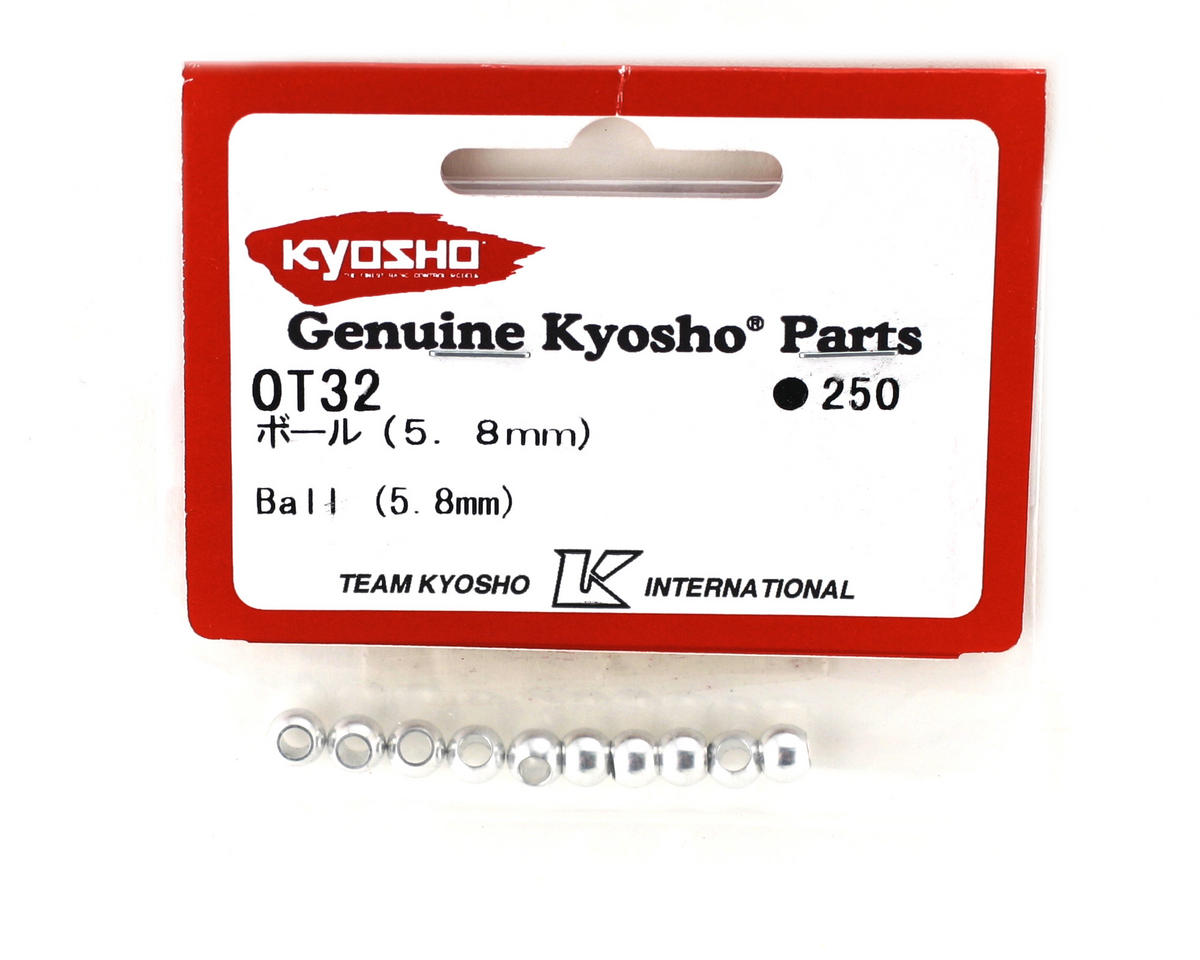 Kyosho 5.8mm Shock Ball (10) (ZX-5)