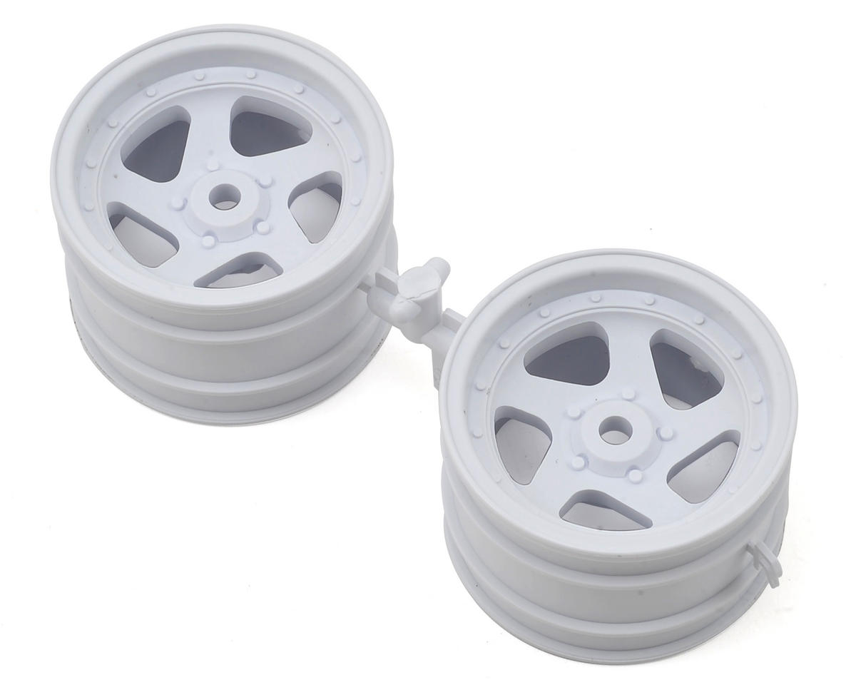 Optima 5 Spoke Wheel (White) by Kyosho