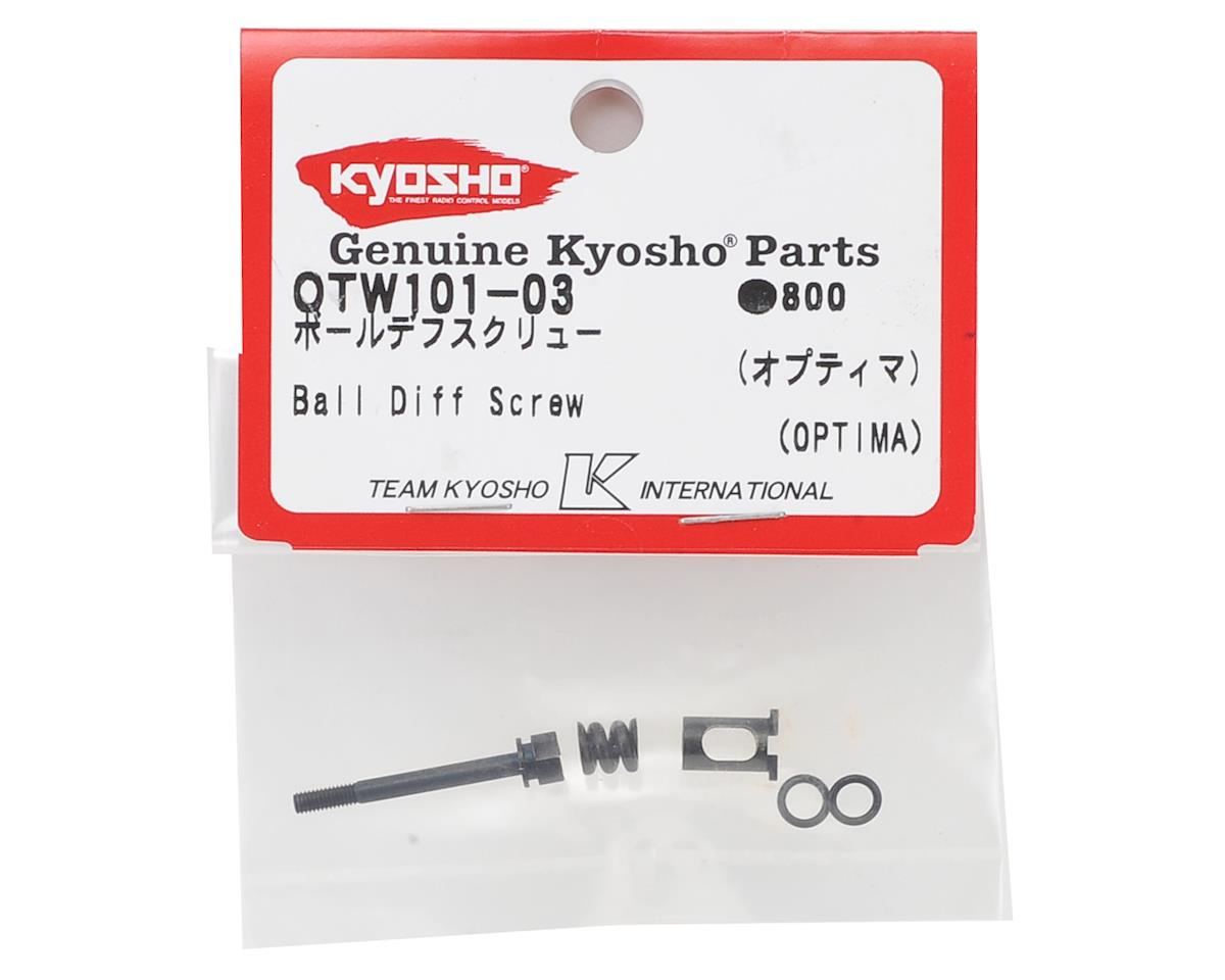 Kyosho Optima Ball Differential Screw
