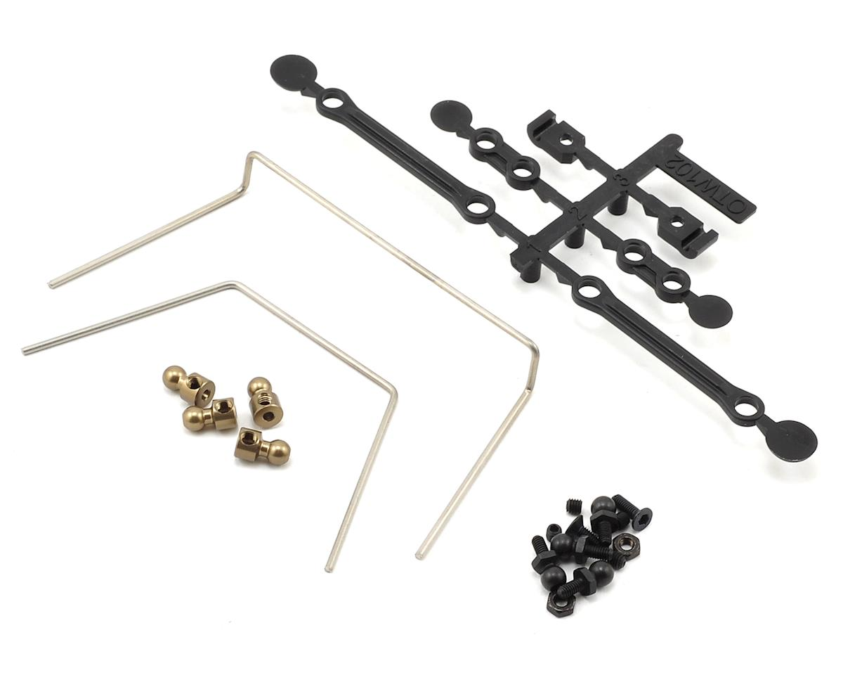 Optima Front & Rear Sway Bar Set by Kyosho