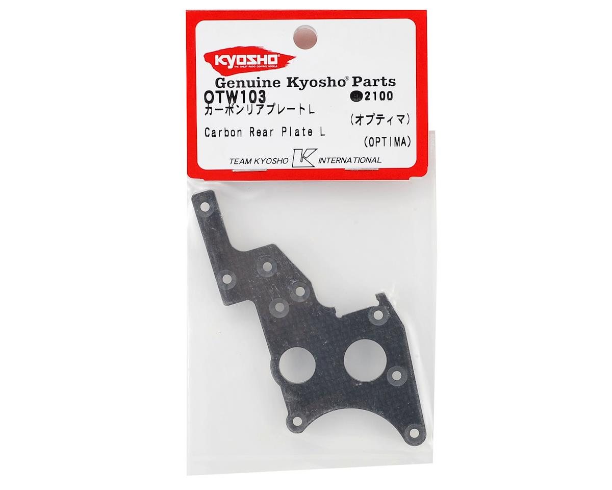 Kyosho Carbon Fiber Rear Side Plate L
