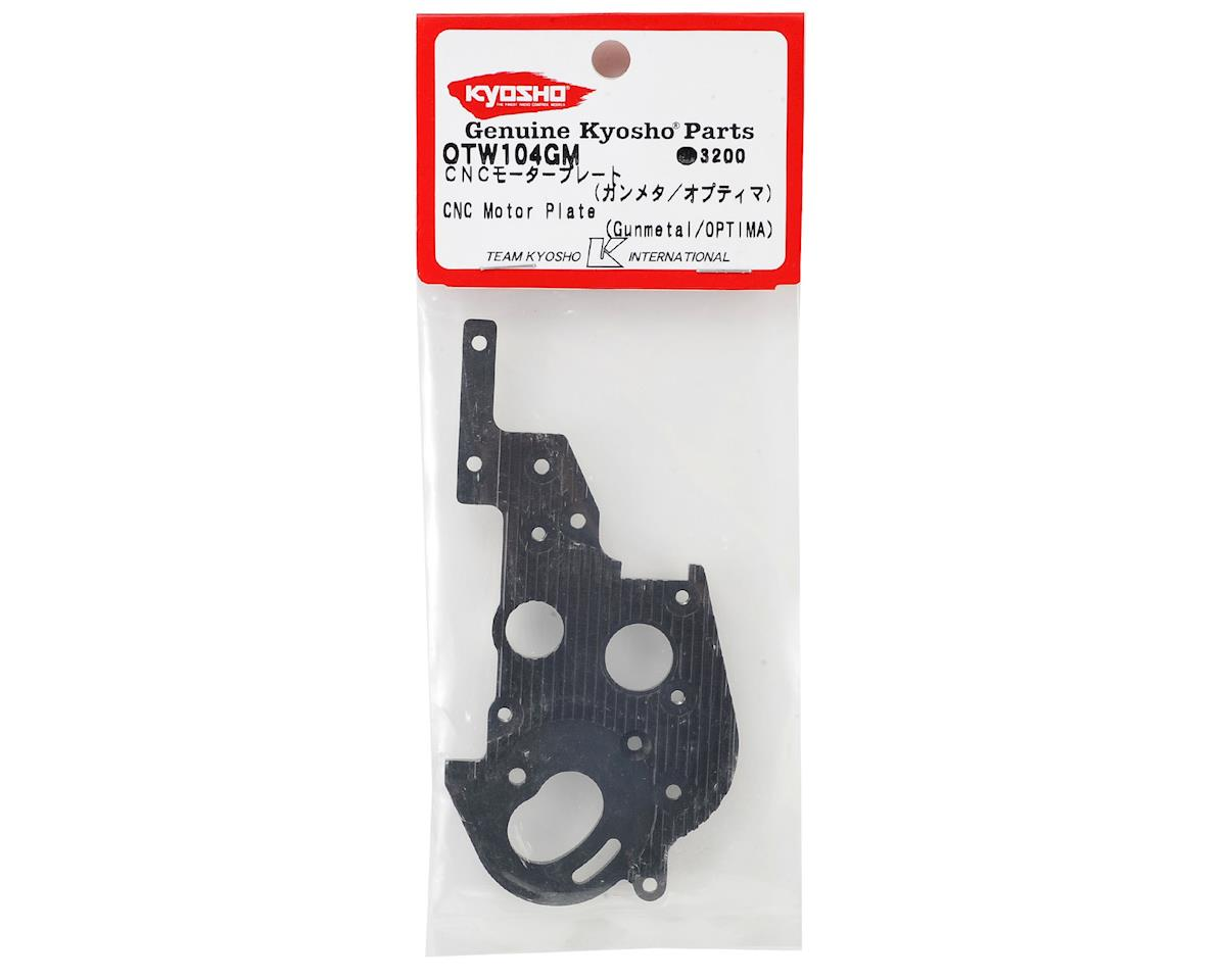 Optima Aluminum Heatsink Motor Plate by Kyosho
