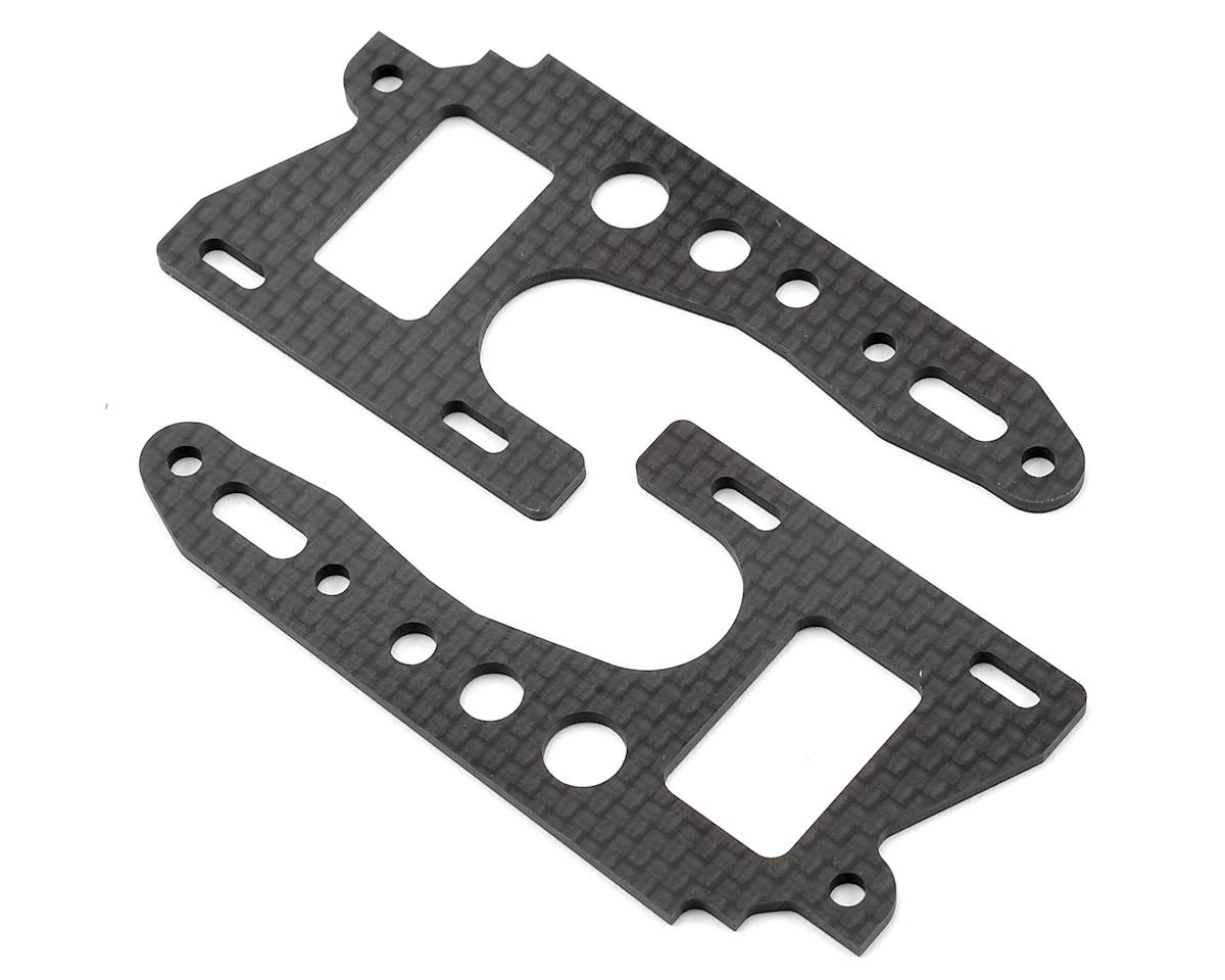 Optima Carbon Fiber Front Side Plate Set by Kyosho