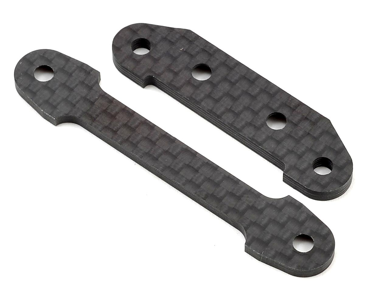 Optima Carbon Fiber Front Suspension Plate Set by Kyosho