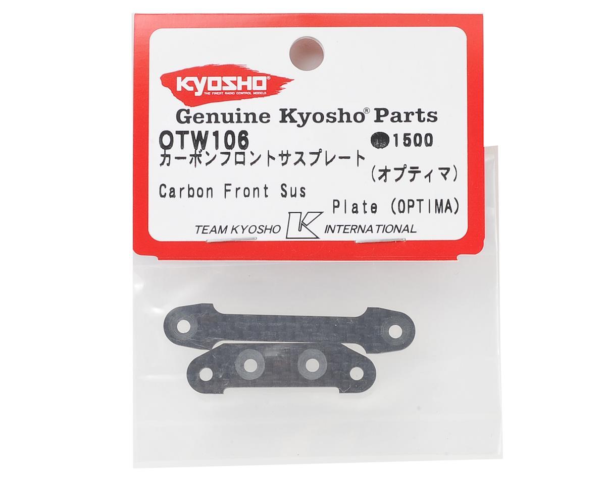 Kyosho Optima Carbon Fiber Front Suspension Plate Set