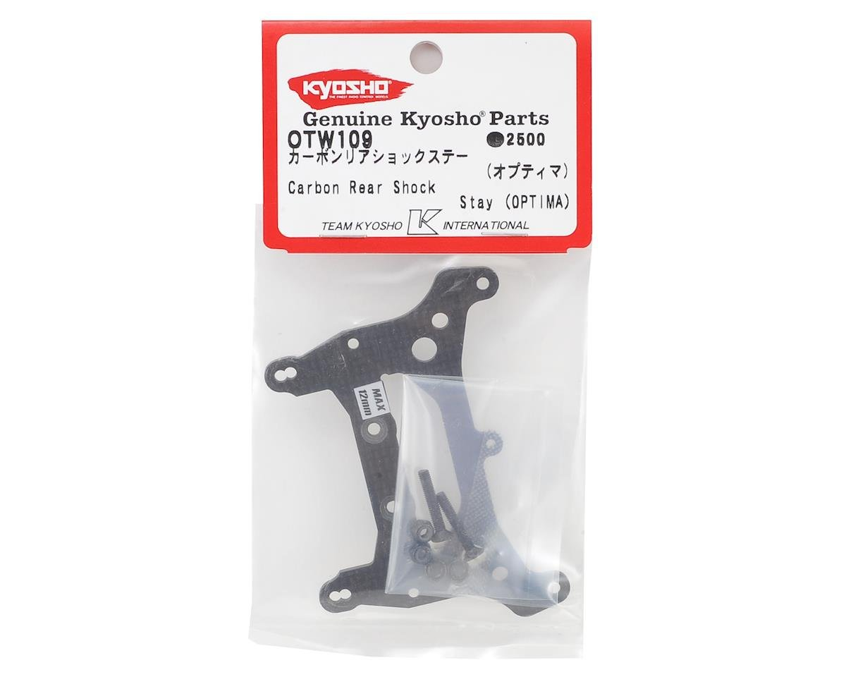 Optima Carbon Fiber Rear Shock Tower by Kyosho