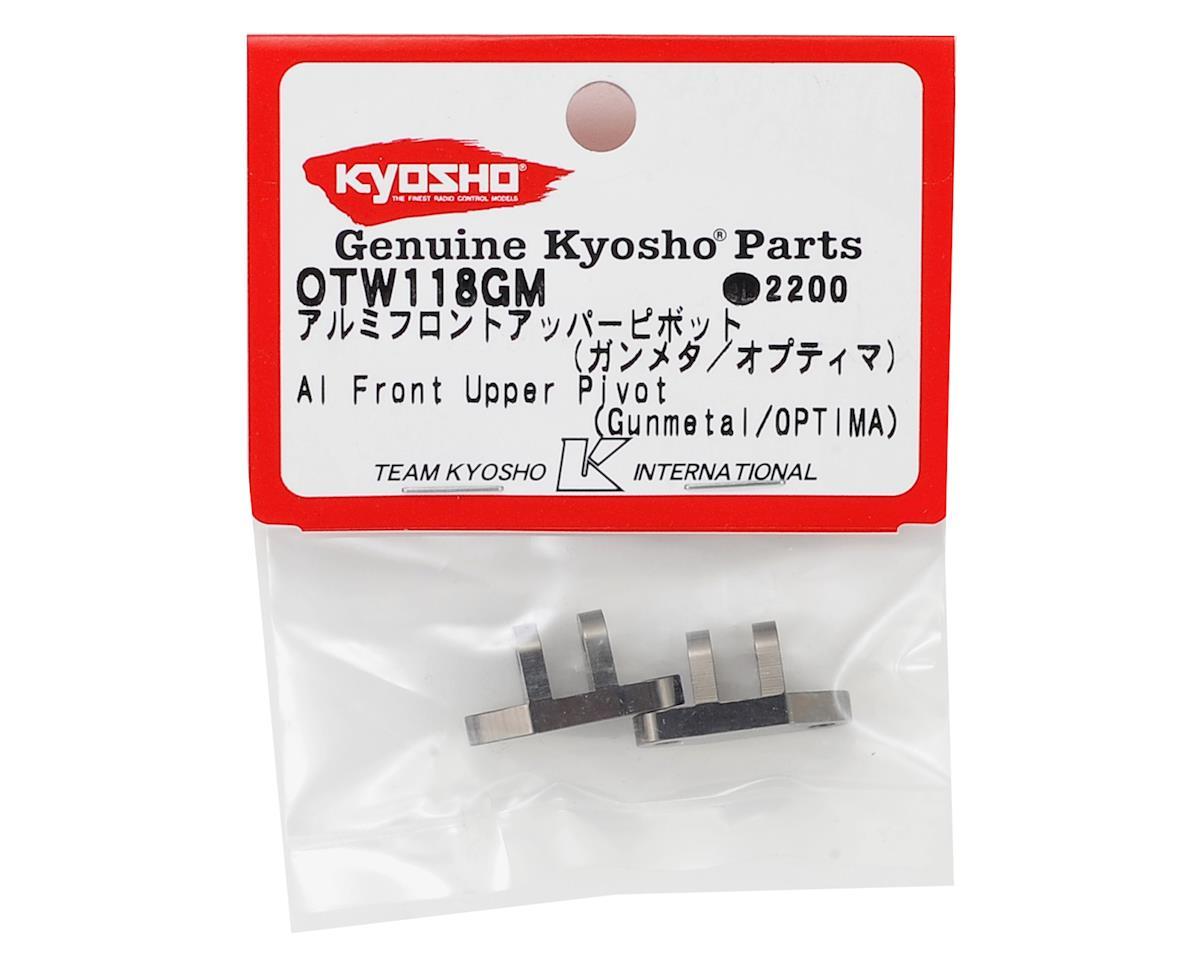 Optima Aluminum Front Upper Pivot Set by Kyosho