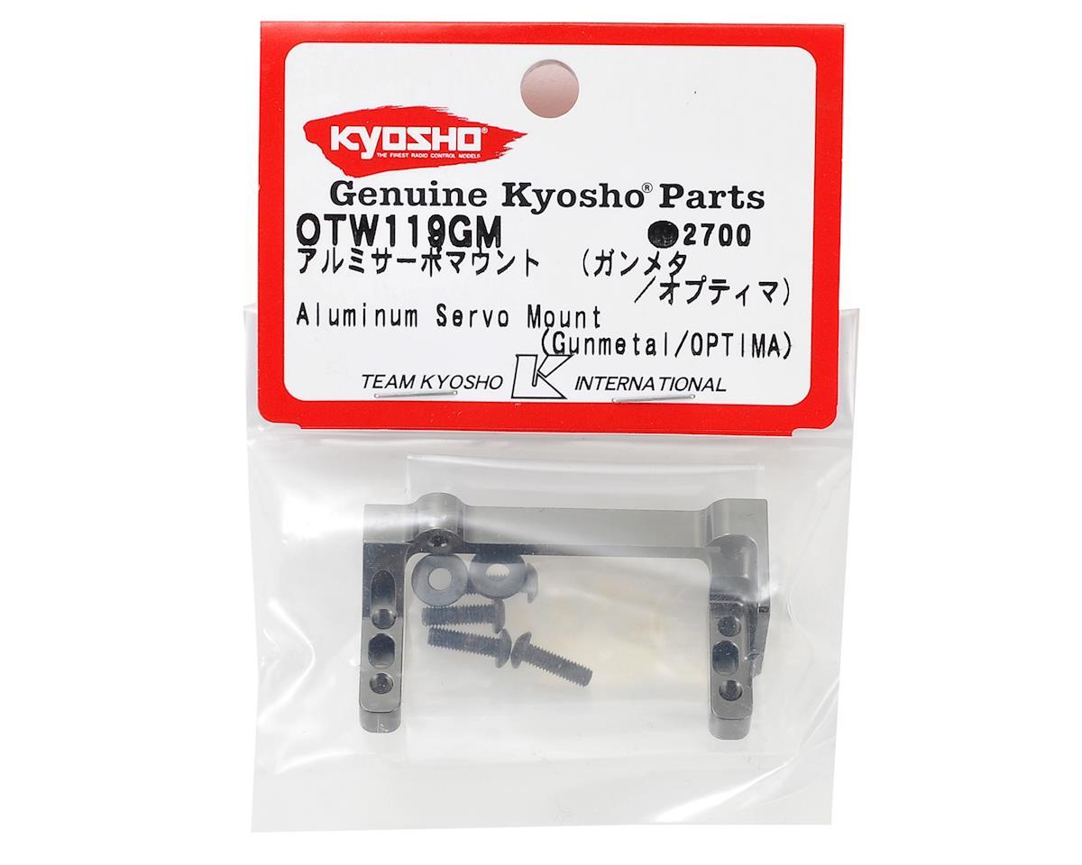 Optima Aluminum Servo Mount by Kyosho