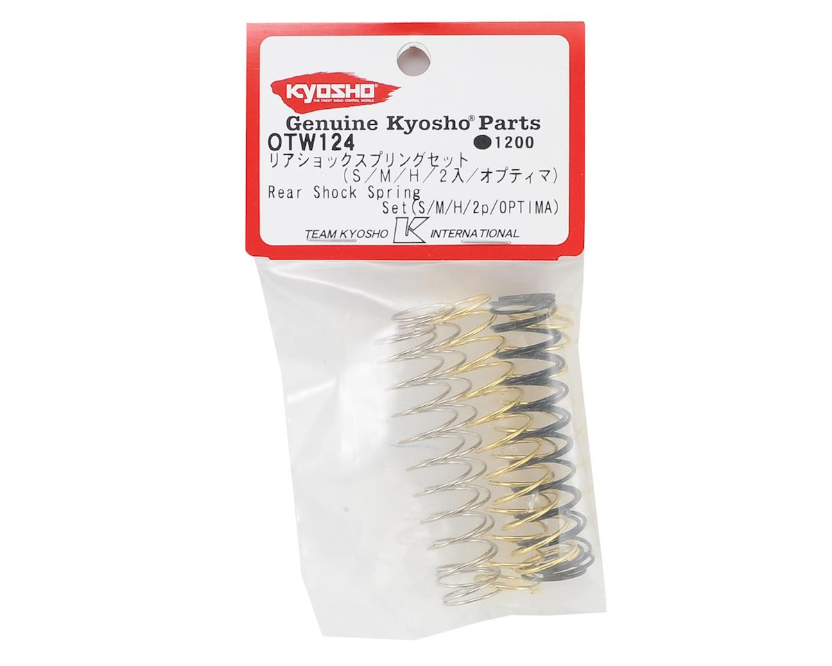 Kyosho Optima Rear Soft, Medium & Hard Spring Set