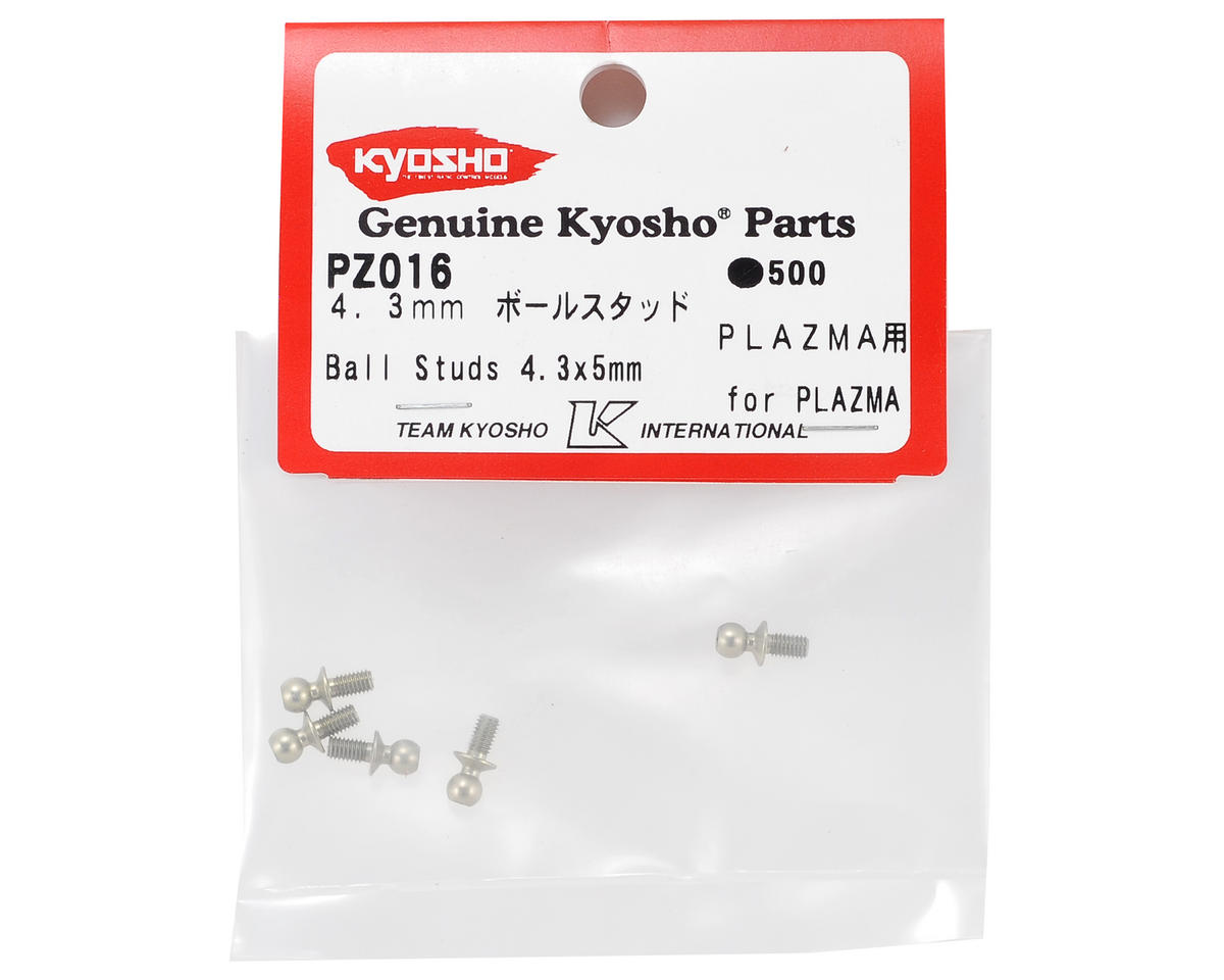 4.3x5mm Ball Stud (5) by Kyosho