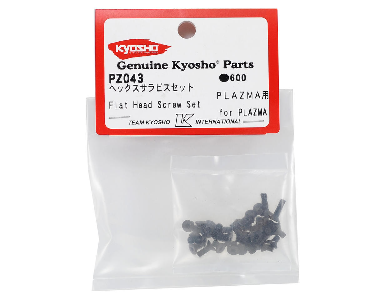 Kyosho Plazma Ra Flat Head Screw Set