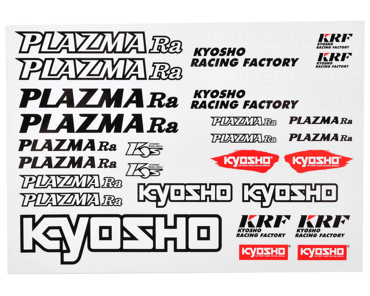 Kyosho Plazma Ra Sticker Sheet