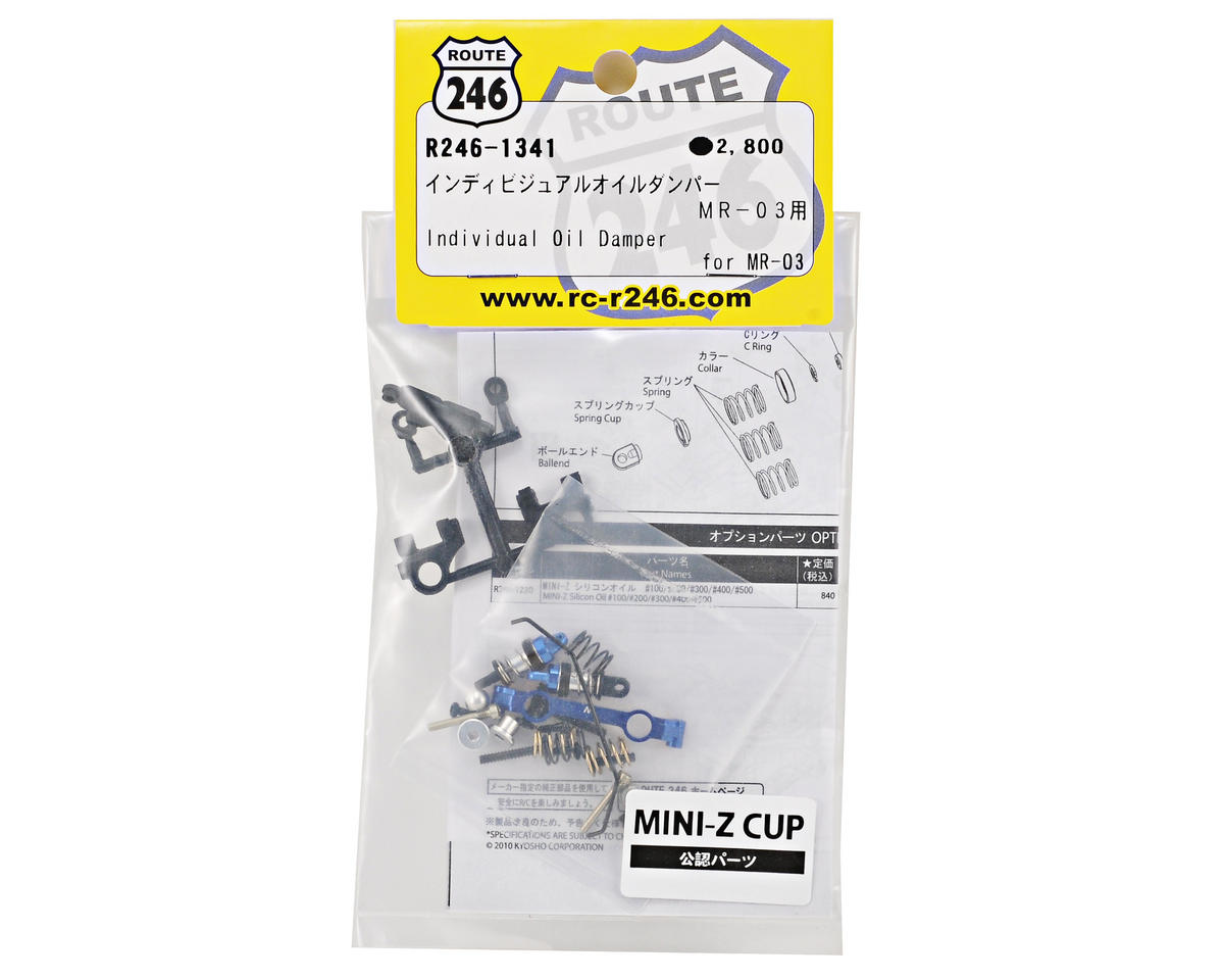 Route 246 Front End Oil Damper Set (MR-03W) by Kyosho
