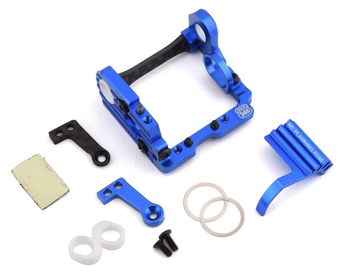 Kyosho MR-03 Route 246 Mini-Z MML Aluminum Motor Pod (Blue) (HB98mm)