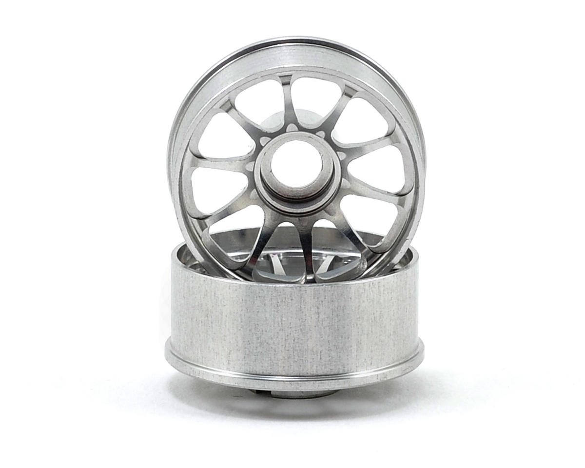 Kyosho 2.5mm Offset Narrow CE28N Mini-Z Wheel Set (2) (Silver)