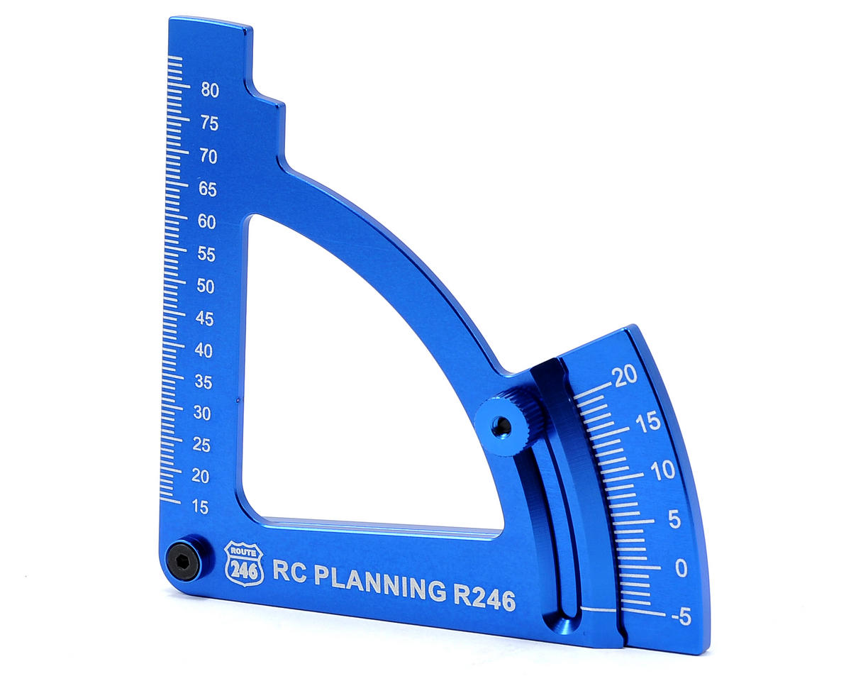 Route 246 Camber Gauge (Blue) by Kyosho