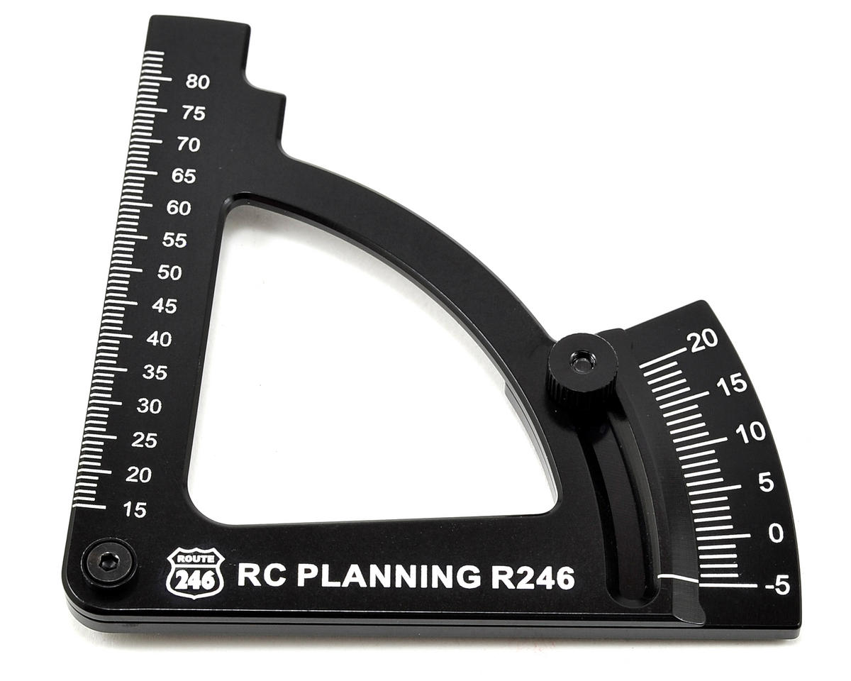 Camber Gauge (Black) by Kyosho