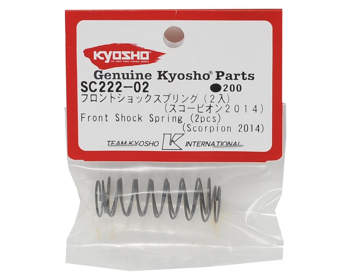 Kyosho Front Shock Spring (2)