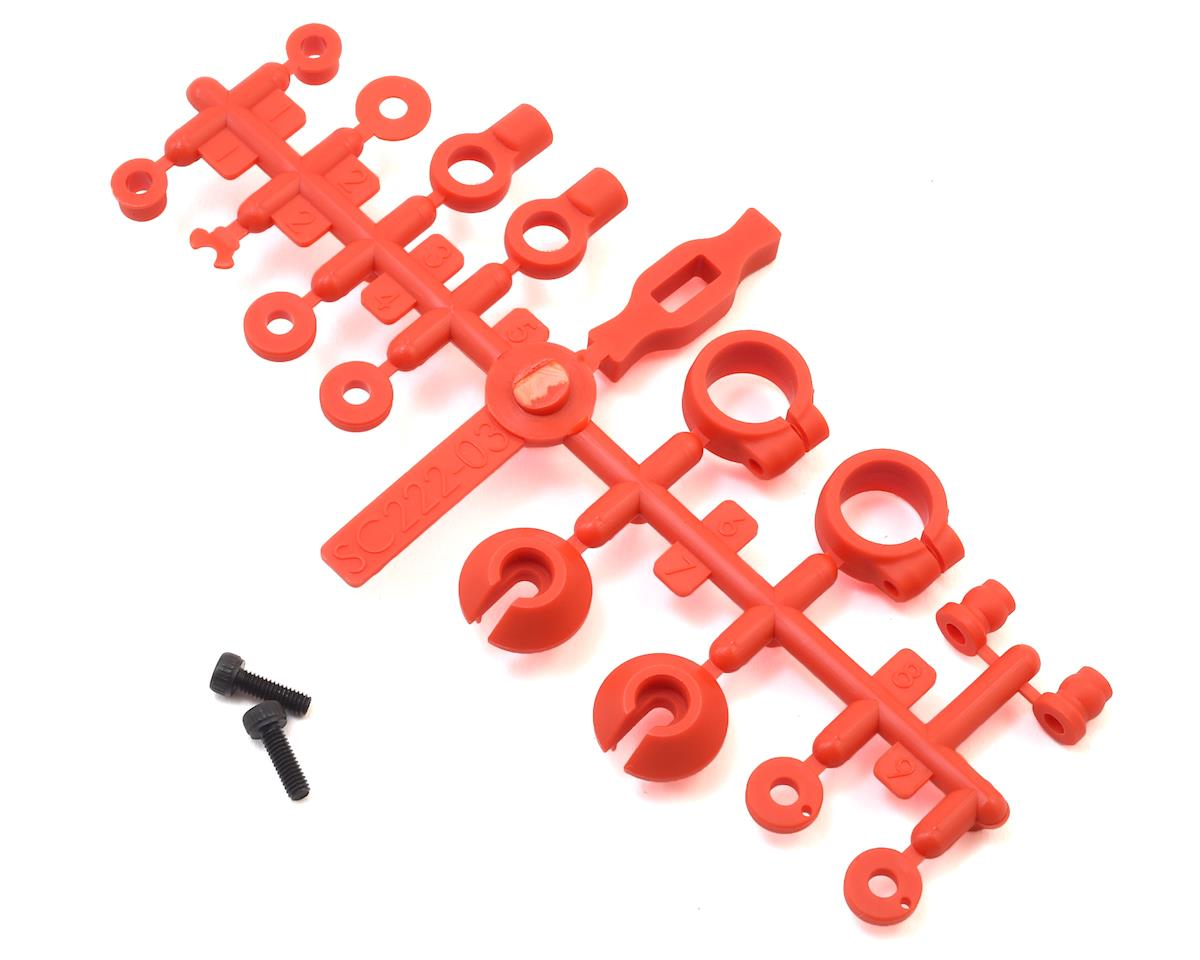 Kyosho Scorpion 2014 Shock Plastic Parts Set
