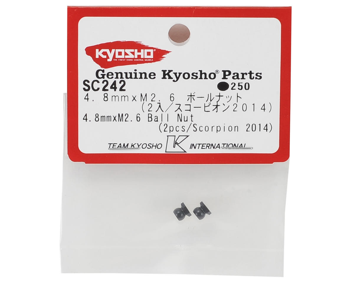 Kyosho 4.8mm x M2.6 Ball Nut (2)