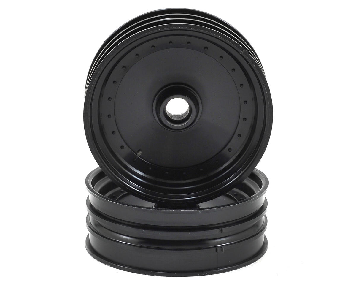 Kyosho Scorpion 2014 Dish Front Wheel (2) (Black)