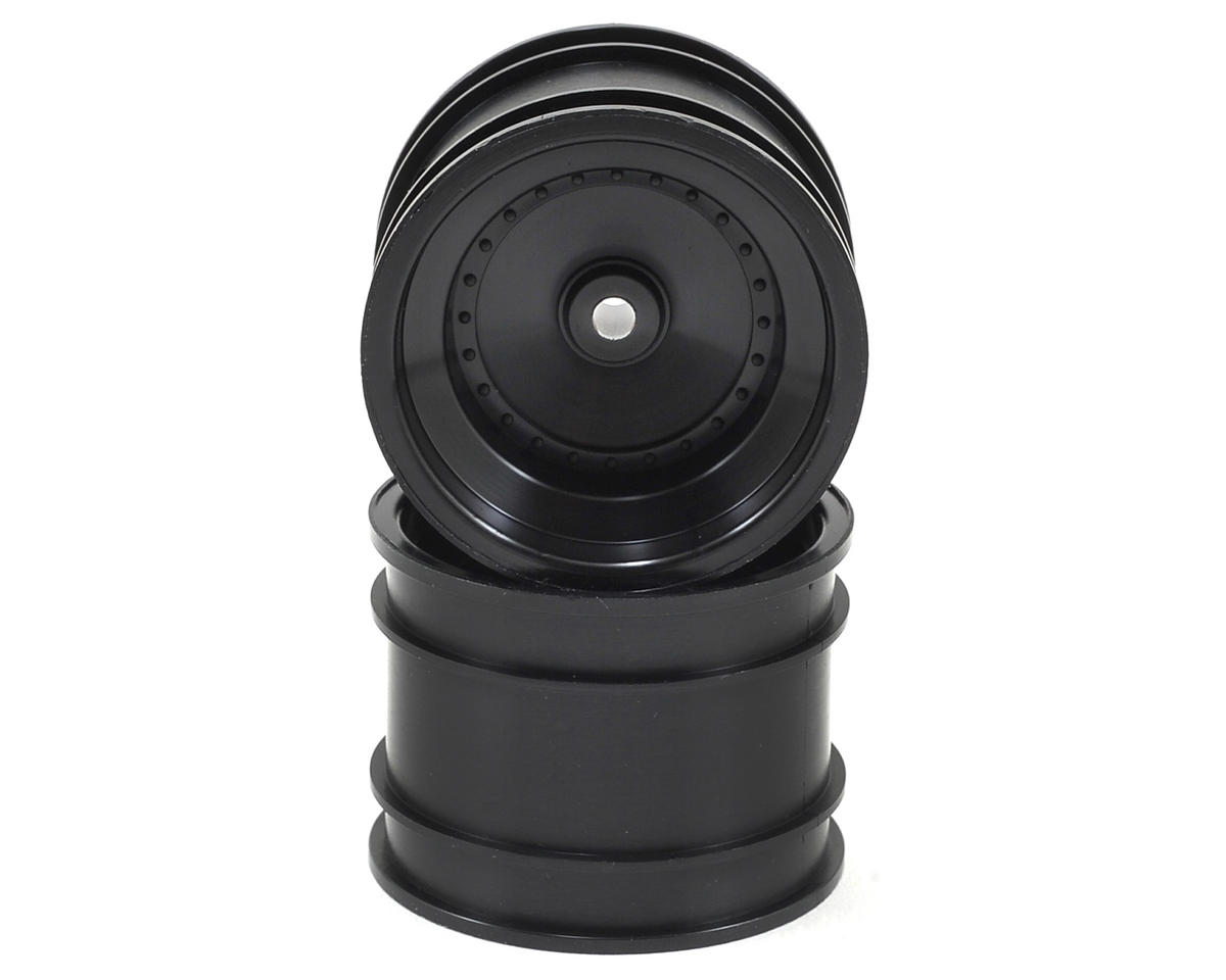 Dish Rear Wheel (2) (Black) by Kyosho
