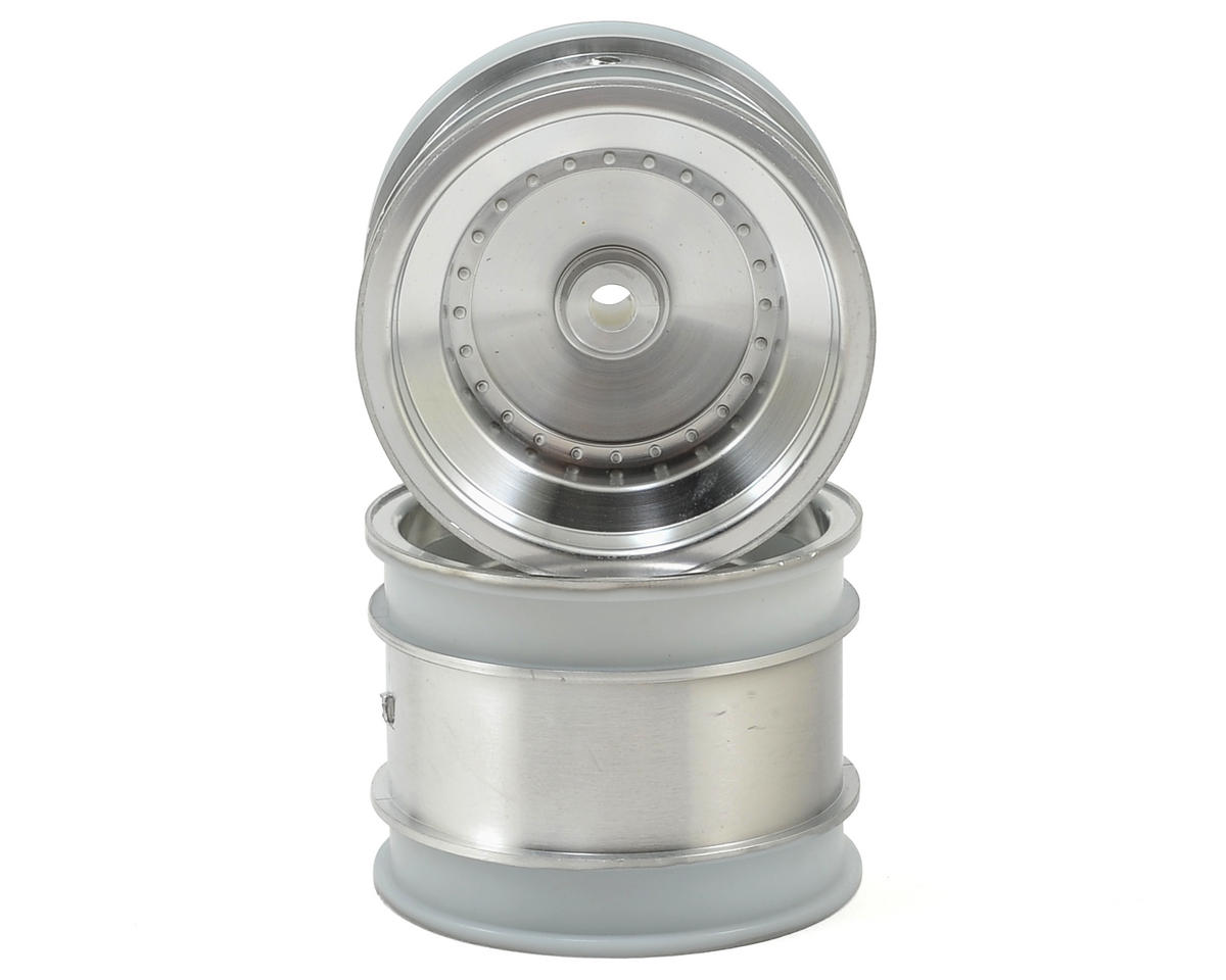 Kyosho Dish Rear Wheel (2) (Satin Chrome)