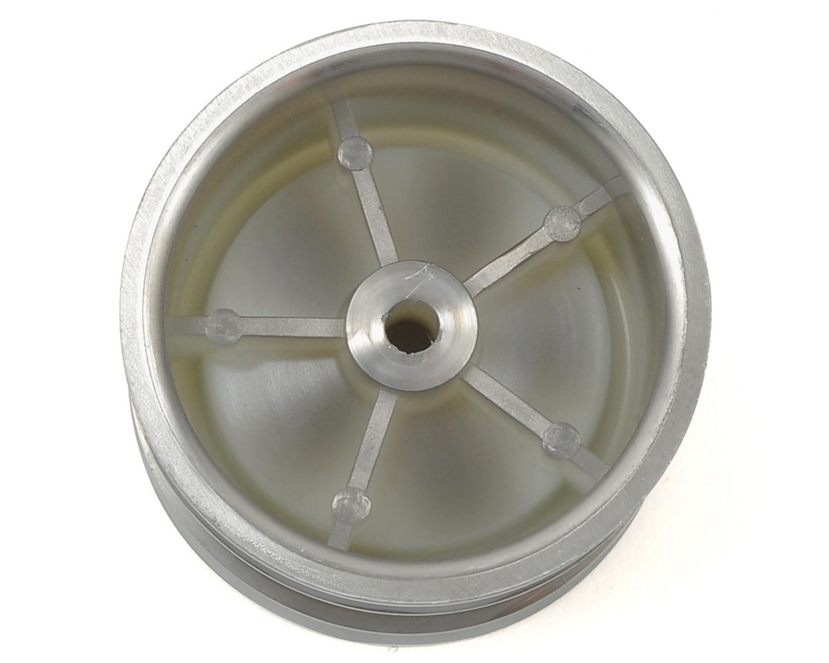 Dish Rear Wheel (2) (Satin Chrome) by Kyosho