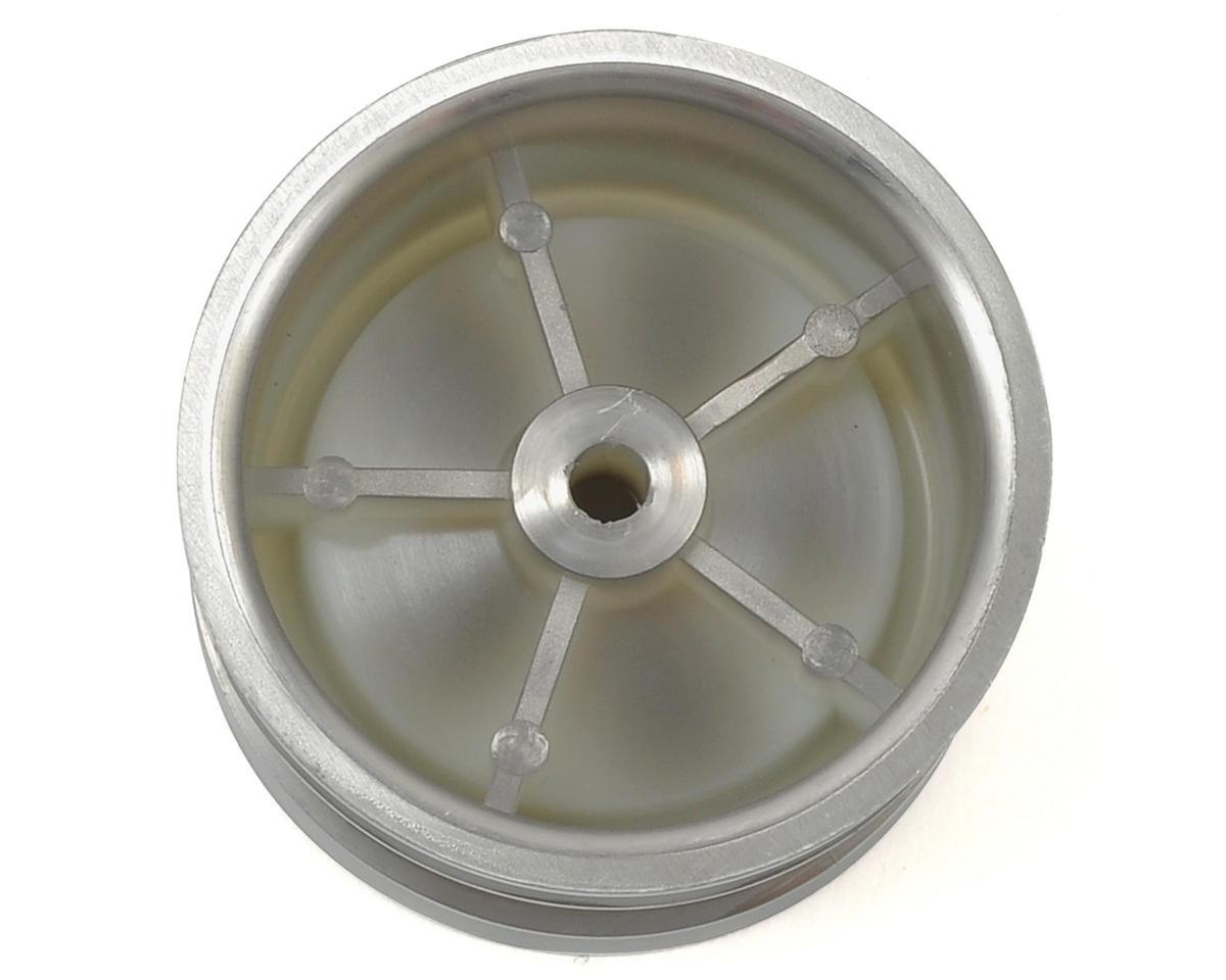 Kyosho Dish Rear Wheel (2) (Satin Chrome)