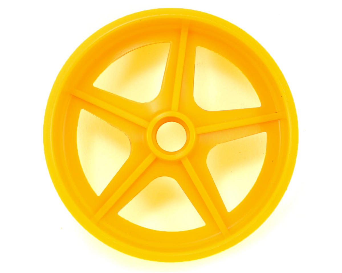 Kyosho 5-Spoke Front Wheel (2) (Yellow)
