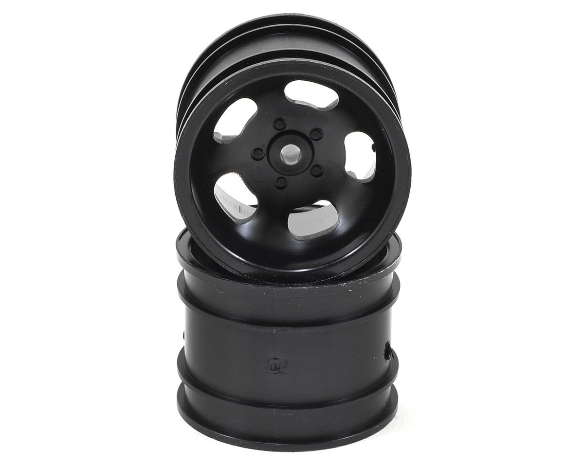 5-Spoke Rear Wheel (2) (Black) by Kyosho