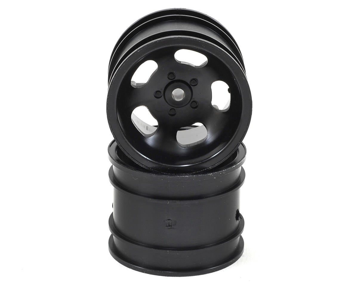 Kyosho 5-Spoke Rear Wheel (2) (Black)