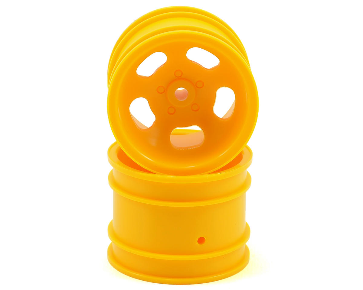 Kyosho 5-Spoke Rear Wheel (2) (Yellow)