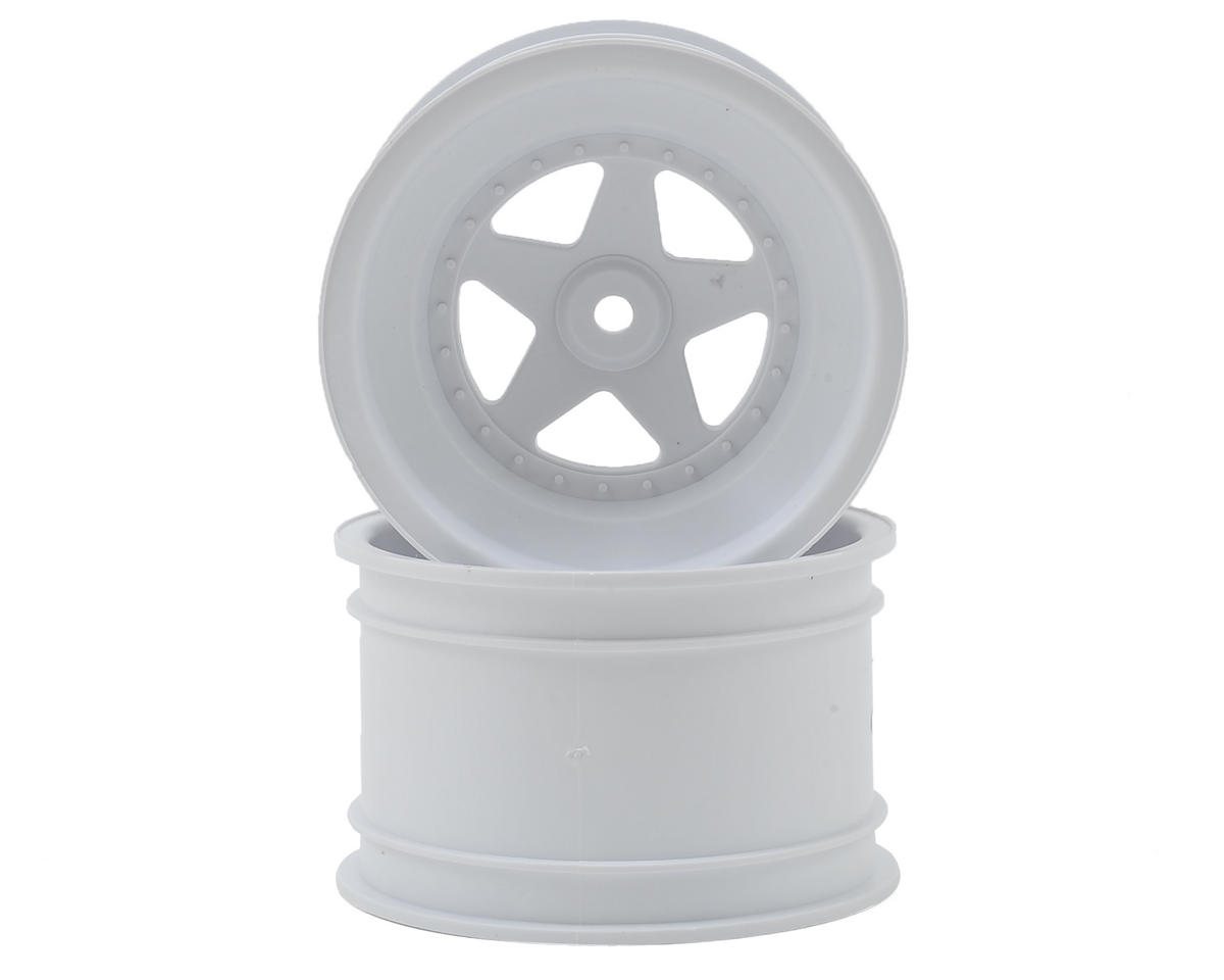 "Kyosho 12mm Hex 2.2"" Rear Wheel (White) (2)"