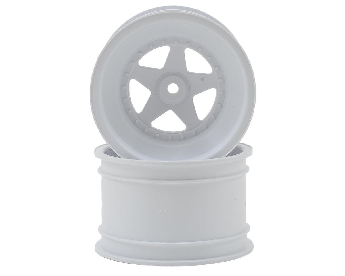 "Kyosho 12mm Hex 2.2"" Rear Wheel (White) (2)"